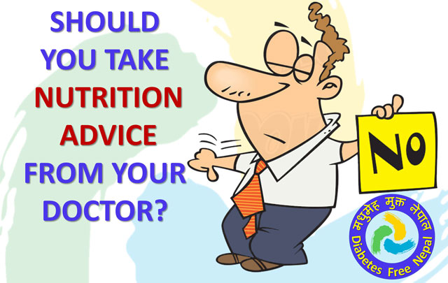 Should You Take Nutrition Advice from Your Doctor