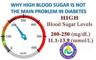 Why high blood sugar is not the main problem in Type 2 Diabetes?